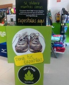 dona tus zapatillas de running